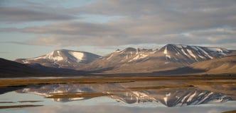 卑尔根群岛,斯瓦尔巴特群岛,挪威 库存照片