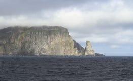 卑尔根群岛:熊岛-西南海角 免版税库存照片