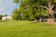 卓宁霍姆宫斯德哥尔摩瑞典庭院 免版税库存图片