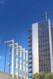 卓越的地方概念和想法 基督大教堂教会 库存图片