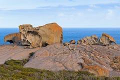 卓越的岩石,在碎片追逐国家公园的岩层 免版税库存图片