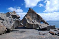 卓越的岩石 免版税库存照片