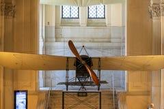 单引擎的单翼飞机单音引擎,阿尔塔雷della帕特里亚,罗马,意大利 免版税库存图片