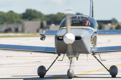 单引擎飞机 库存照片