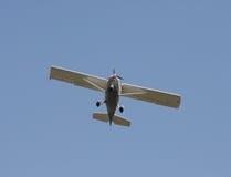 单引擎飞机 免版税图库摄影