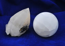 单晶石英 库存图片