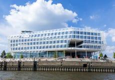 单杆议院, HafenCity,汉堡,德国,欧洲 免版税库存图片