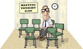 单独会议 库存图片