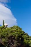 单独克里米亚半岛亭子 免版税图库摄影