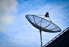 单独卫星 免版税图库摄影