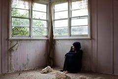 单独女孩 免版税图库摄影