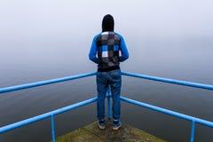 单独男性 图库摄影
