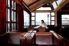 单独餐馆 免版税图库摄影