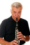 单簧管使用 库存照片