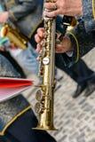 单簧管仪器 免版税库存图片