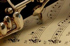 单簧管 库存图片