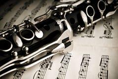 单簧管 图库摄影