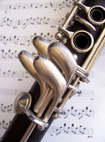 单簧管 免版税库存图片