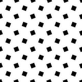单色抽象无缝的几何方形的样式-导航背景设计 向量例证