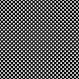 单色无缝的方形的样式背景-从有角正方形的黑白几何传染媒介例证 向量例证
