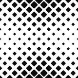 单色无缝的方形的样式 库存例证