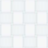 单色无缝的被交织的纸条纹样式 免版税库存照片