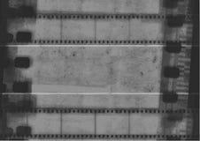 单色金属35m影片小条 库存照片