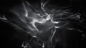 单色飘渺发光的抽象火焰圈 库存例证