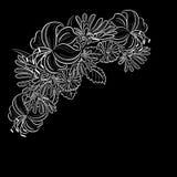 单色黑白构成 库存图片