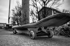 单色滑板 免版税库存照片