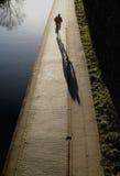单车手 库存照片