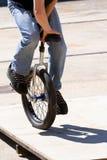 单轮脚踏车 库存图片