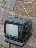 单选减速火箭的电视 库存图片