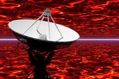 单选技术望远镜 库存照片