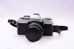 单镜头反射35mm卷筒软片照相机 免版税库存照片