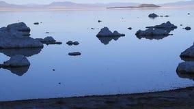 单音加利福尼亚的湖 股票录像