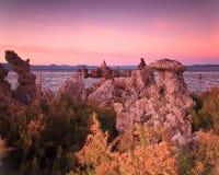 单音加利福尼亚的湖 库存图片