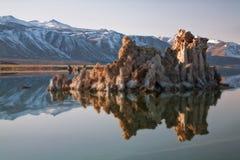 单音加利福尼亚的湖 图库摄影
