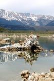 单音加利福尼亚的湖 免版税库存照片