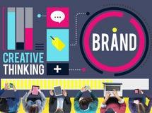 单项产品行销广告身分企业商标Conce 向量例证