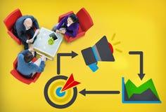 单项产品行销广告身分商标概念 库存图片