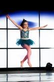 卖力芭蕾舞女演员 免版税图库摄影