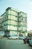 贩卖和换在罗安达,安哥拉街道上  免版税库存照片