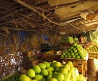 卖在印度的路边的蒙戈币 免版税库存照片