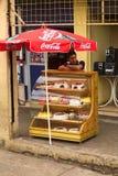 卖蛋糕在安巴托,厄瓜多尔 免版税库存图片