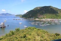 南丫岛风景视图在香港 免版税图库摄影