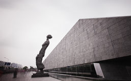 南京大屠杀纪念品 免版税库存图片