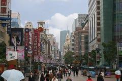 南京路上海中国 免版税库存图片