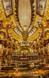 南京Niushoushan Foding宫殿内部 免版税库存照片