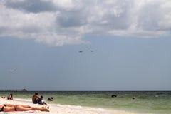 南佛罗里达海景 库存照片